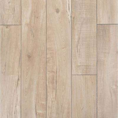 Bywater Maple Grey Laminate Flooring - 5 in. x 7 in. Take Home Sample