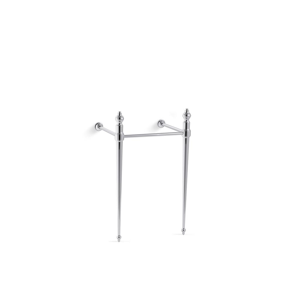 KOHLER Memoirs Console Table Legs in Polished Chrome