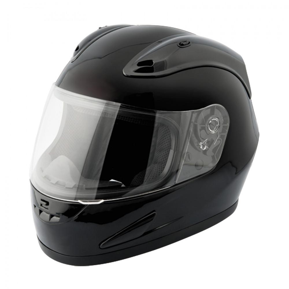 Raider Octane Small Black Full Face Gloss Motorcycle