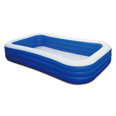 Family 120 in. x 72 in. Rectangle 22 in. D Inflatable Pool