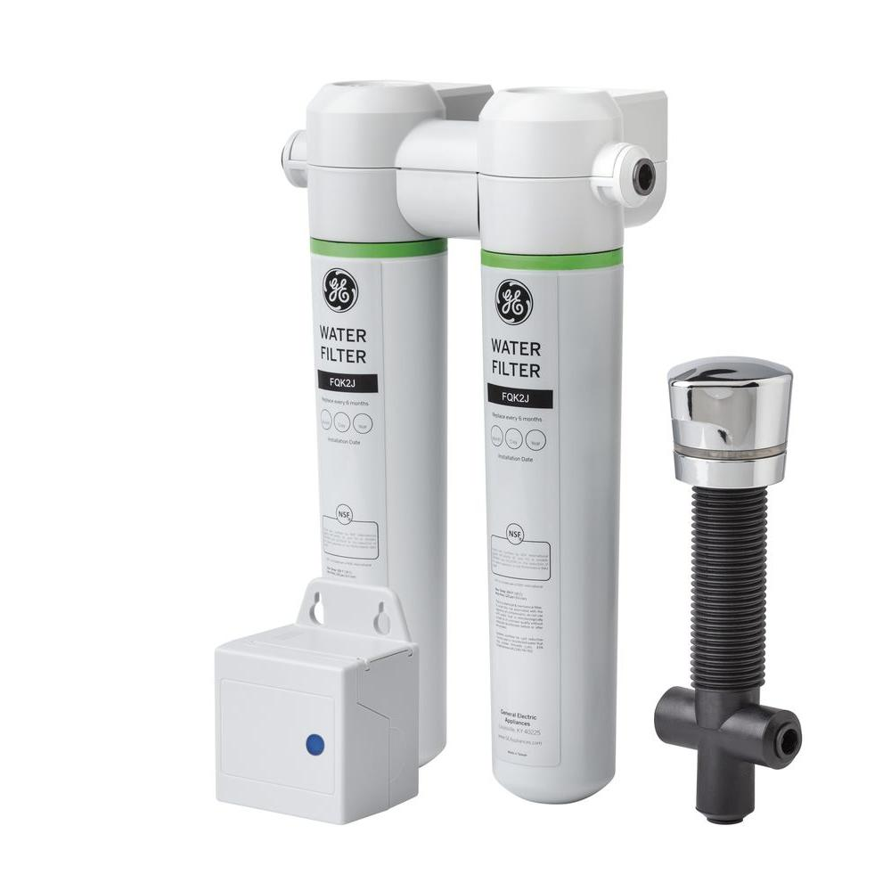 Under Sink Dual Flow Water Filtration System