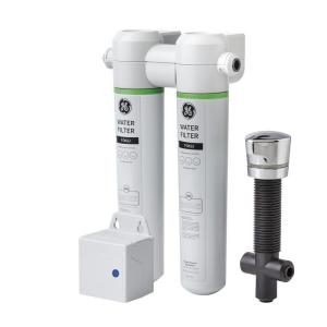 GE Under Sink Dual Flow Water Filtration System by GE