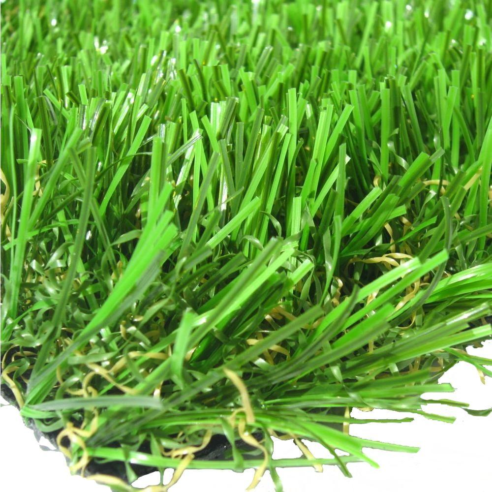 RealGrass Deluxe Artificial Grass Synthetic Lawn Turf, Sold by 15 ft. W x Custom Length