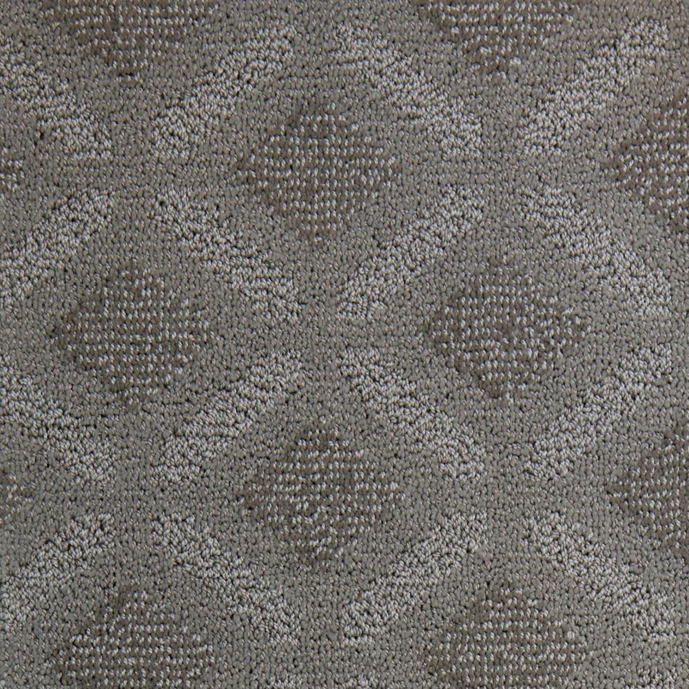 Carpet Sample - Fancy - Color Granite Pattern 8 in. x 8 in.
