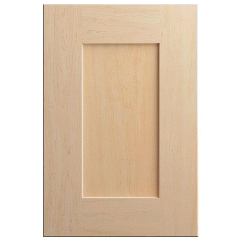 11x15 in. Clay Cabinet Door Sample in Natural