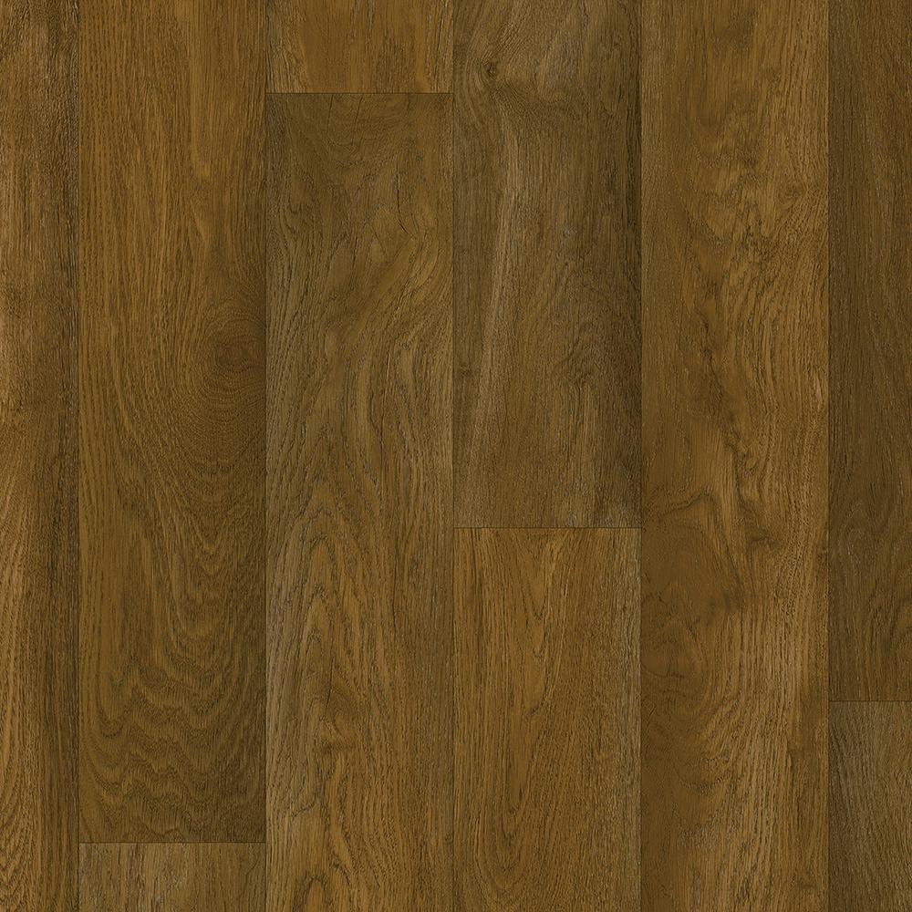 Take Home Sample - Cocoa Brown Residential Vinyl Sheet Flooring - 6 in. x 9 in.