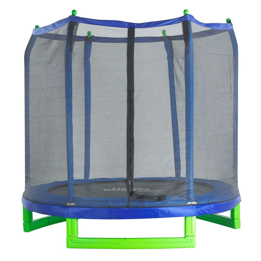 Upper Bounce 7 ft. Indoor/Outdoor Classic Trampoline and ...