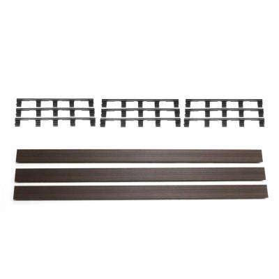 Deck-A-Floor Premium Spanish Walnut Fascia Kit (3-Pieces/Box)