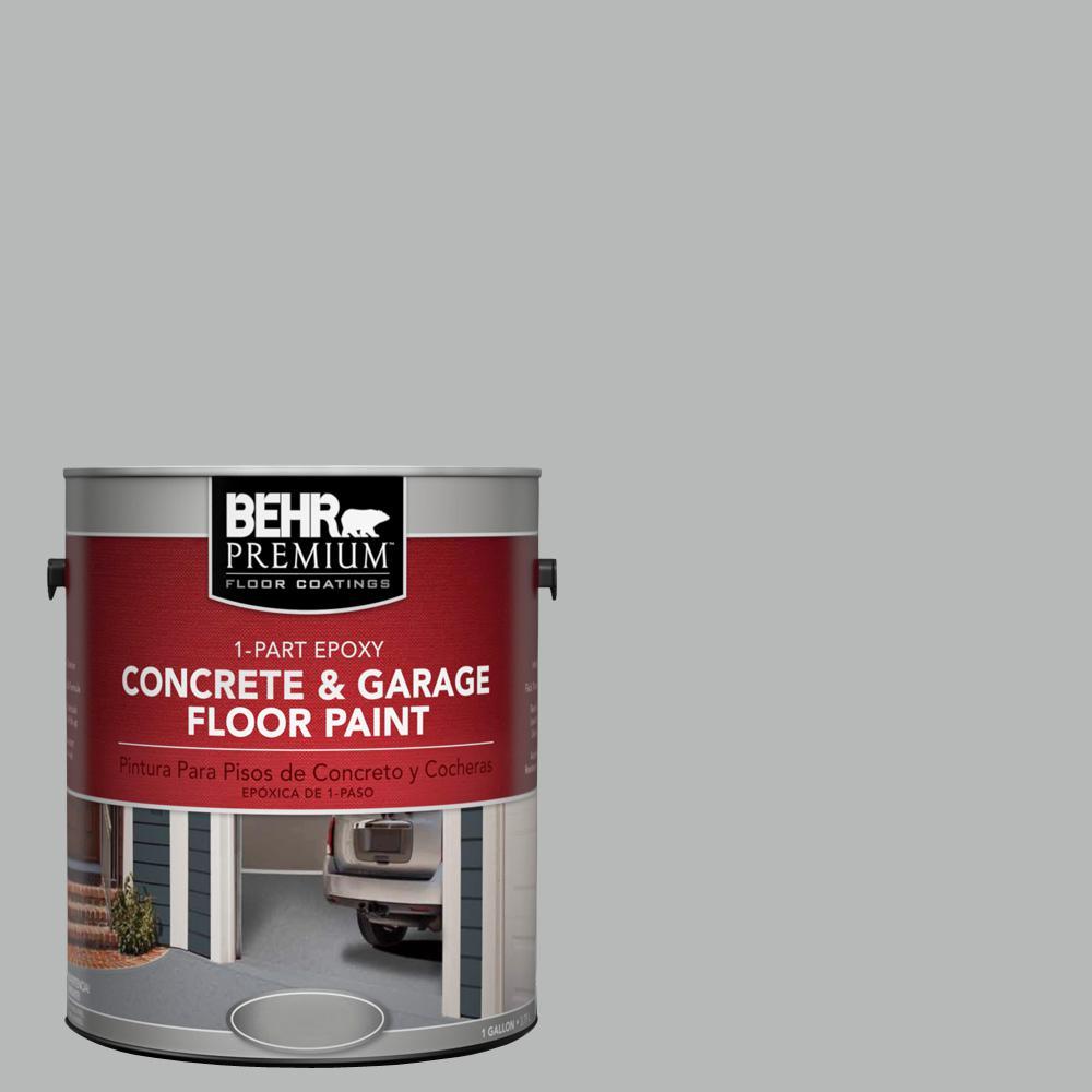 1 gal. #N460-3 Lunar Surface 1-Part Epoxy Concrete and Garage Floor Paint