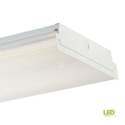4 ft. White LED Wraparound Extra Bright Ceiling Light