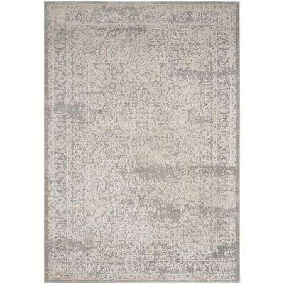 Princeton Gray/Beige 8 ft. x 10 ft. Area Rug