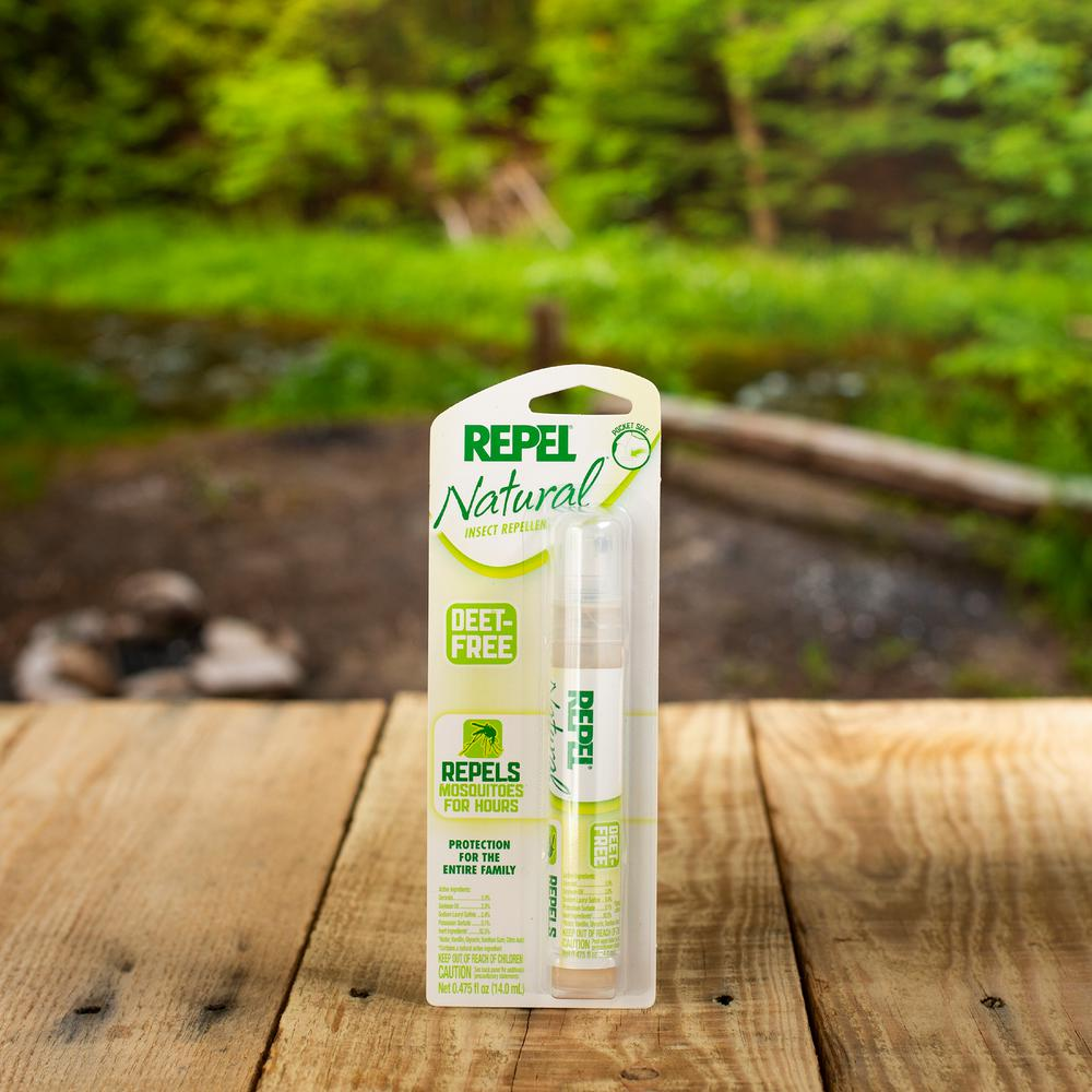 Repel Natural 0 475 Oz Personal Pen Size Insect Repellent Pump Hg