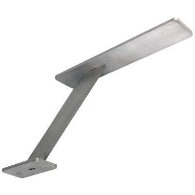 Enterprise 10 in. x 6 in. Stainless Steel Countertop Stand Off Support Post