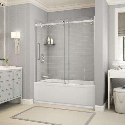 Installed Custom Shower Doors & Installation - Shower Doors - Showers - The Home Depot