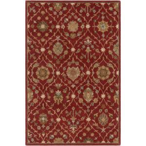 Click here to buy Artistic Weavers Middleton Alexandra Red 9 ft. x 13 ft. Indoor Area Rug by Artistic Weavers.