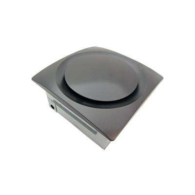 Slim Fit Adjustable Speed 80-140 CFM Ceiling or Wall Mount Bathroom Exhaust Fan Oil Rubbed Bronze ENERGY STAR