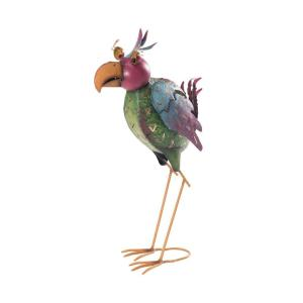 enjoyable home depot garden statues. Whimsical Bird Garden Statue Sunjoy Hen and Rooster 110301040  The Home Depot