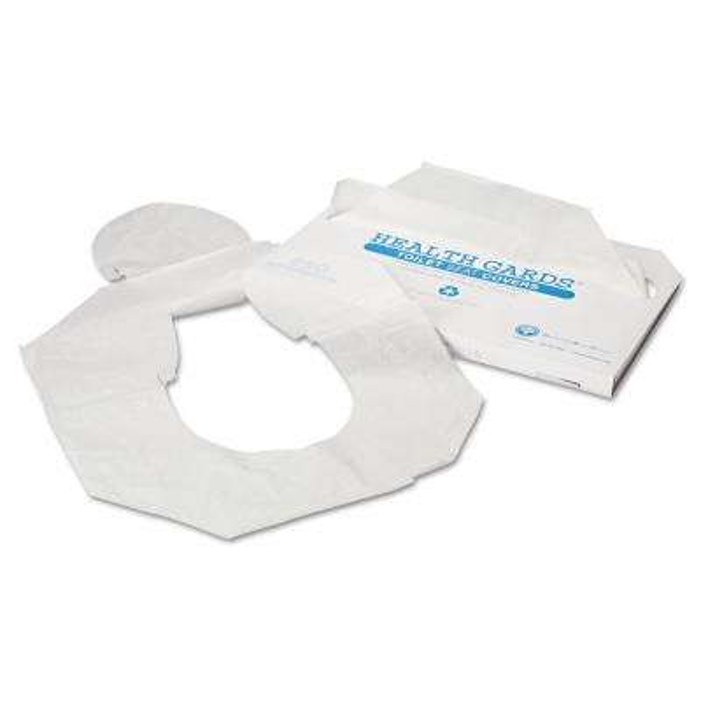 Health Gard's White Half-Fold Toilet Seat Covers (250-Pack, 4-Packs per Carton)