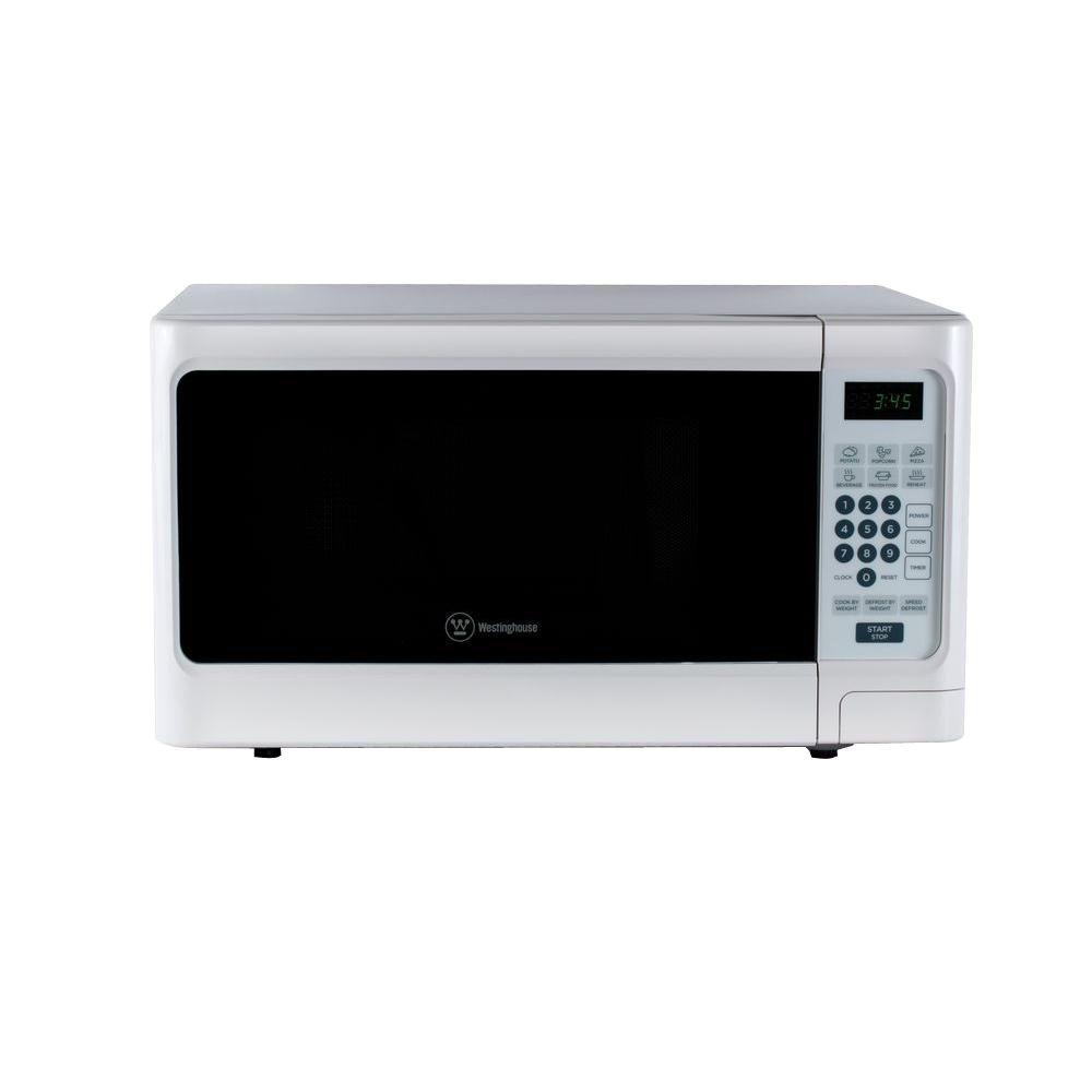 Westinghouse 1 1 Cu Ft 1000 Watt Countertop Microwave In