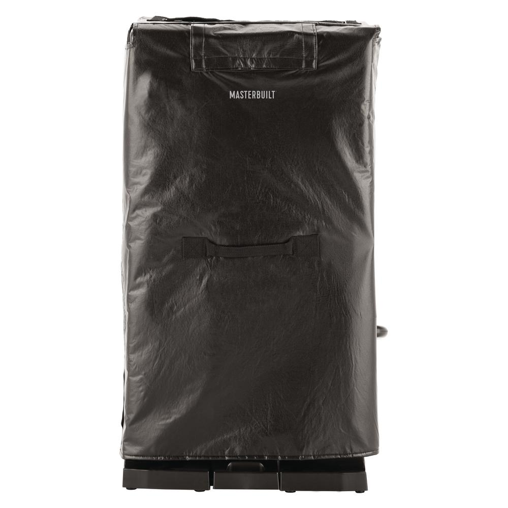 Masterbuilt 32 in. Digital Electric Smoker Insulation Blanket, Black With the Masterbuilt Digital Electric Smoker Insulation Blanket, you can enjoy your favorite smoked foods all winter long. The insulation blanket wraps around your smoker to keep the heat in and maintain consistent temperature, even in freezing weather. Master the art of smoking with Masterbuilt. Color: Black.