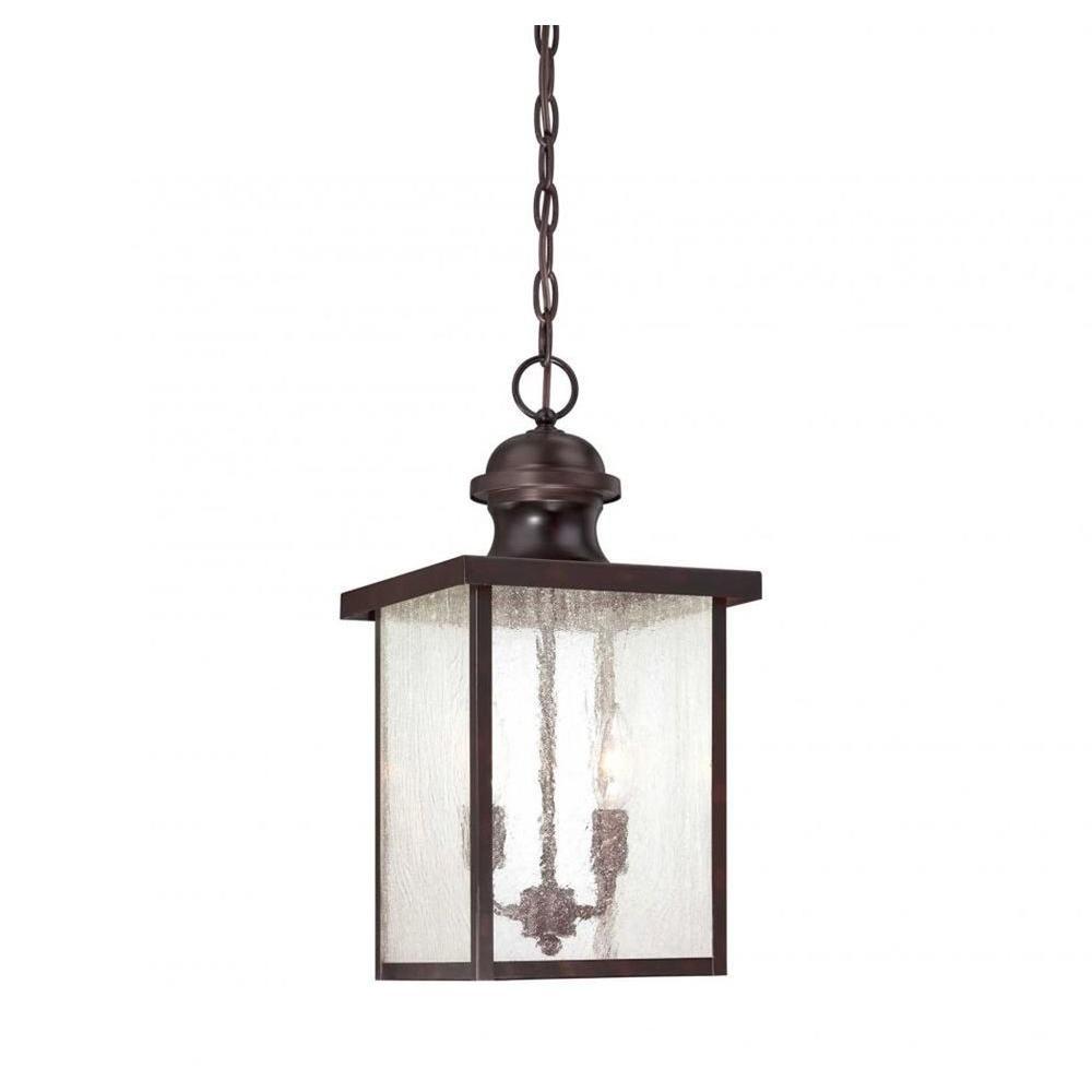 Monti 2-Light English Bronze Outdoor Hanging Lantern