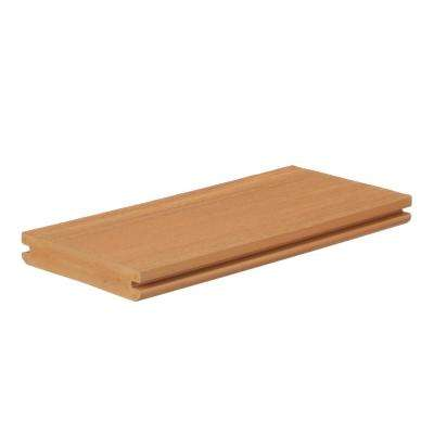 AZEK Vintage 1 in. x 5.5 in. x 1 ft. Cypress PVC Deck Board Sample