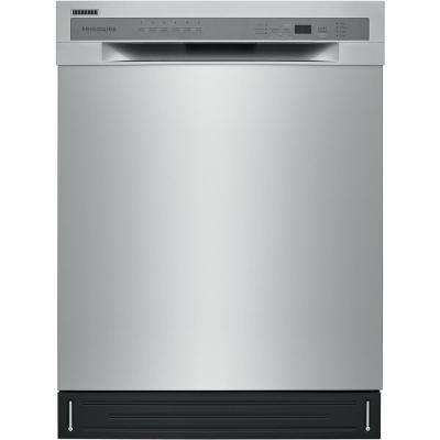 24 in. ADA Tall Tub Dishwasher in Stainless Steel with Stainless Steel Tall Tub, 52 dBA
