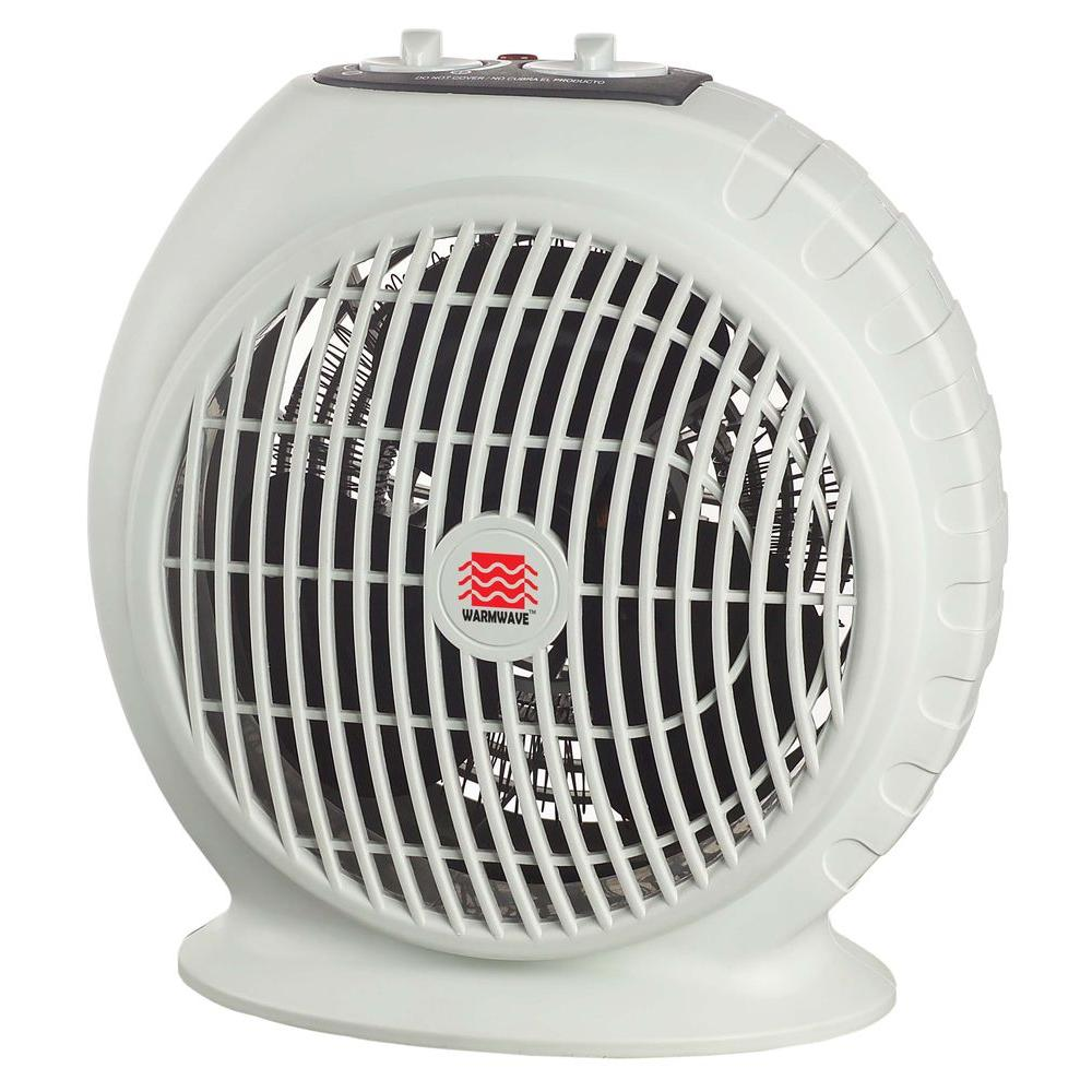 Warmwave 1,500-Watt Electric Fan Portable Heater