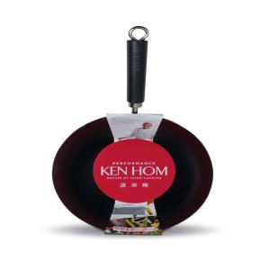 Click here to buy Ken Hom Non-Stick Carbon Steel Wok by Ken Hom.