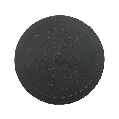 24 in. Reno Lazy Susan Steel Top
