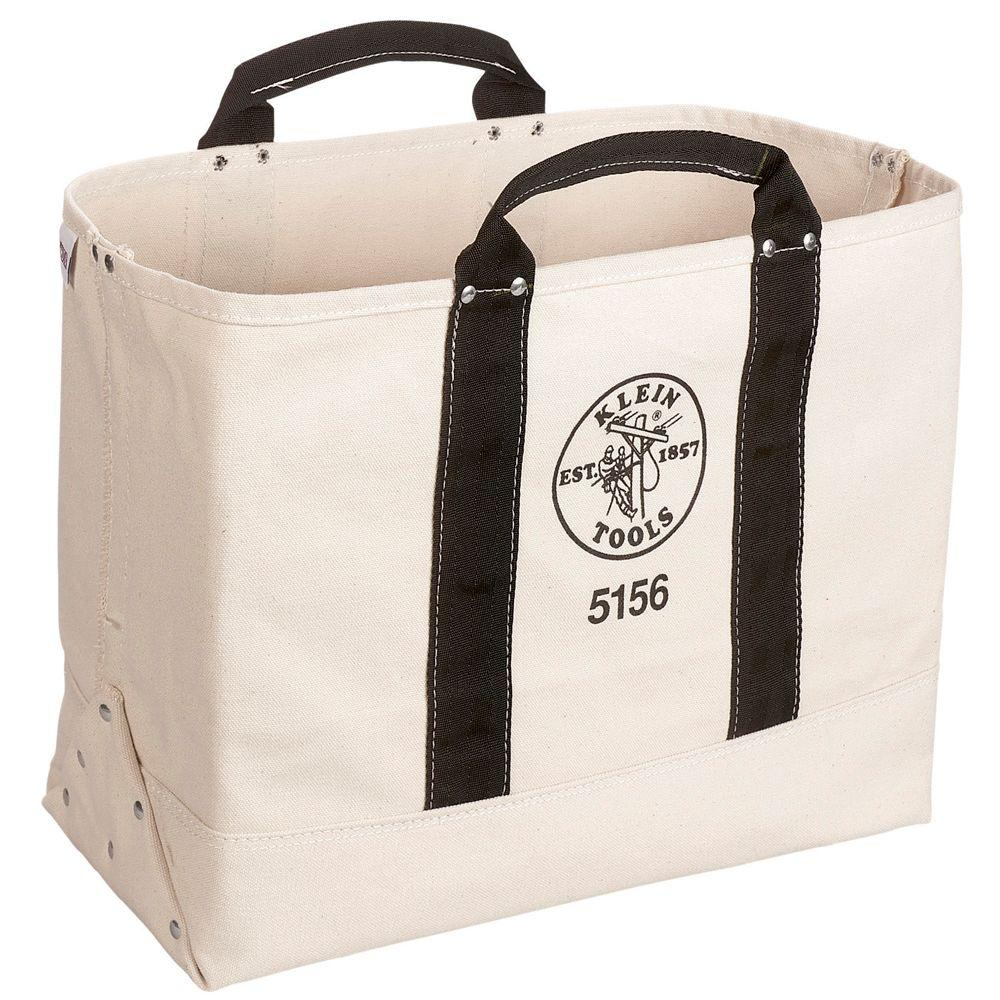 9 in. Canvas Tool Bag