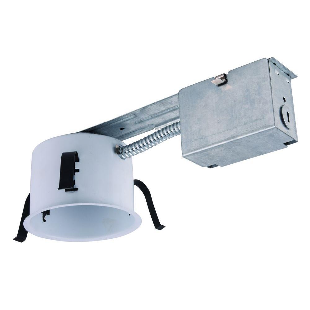 Elegant Lighting 4 in  Line Voltage Recessed Non IC Remodel GU10 Shallow  HousingElegant Lighting 4 in  Line Voltage Recessed Non IC Remodel GU10  . Shallow Housing Recessed Lighting. Home Design Ideas