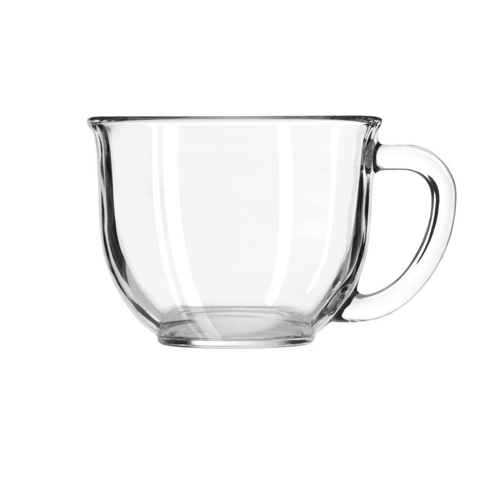 Libbey 17 oz. Gourmet Mug in Clear (Box of 6)