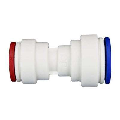 5/16 in. x 1/4 in. Polypropylene Push-to-Connect Reducing Union (10-Pack)