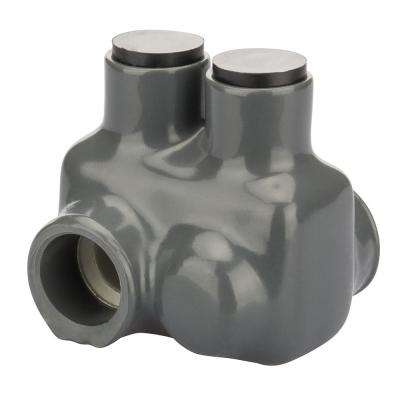 3/0-4 AWG ( B,C,D) 2/0-2 AWG ( K,M,I) Bagged Insulated Connector, Grey