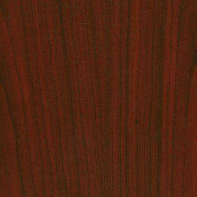 3 in. x 5 in. Laminate Sheet in Empire Mahogany with Premium Textured Gloss Finish