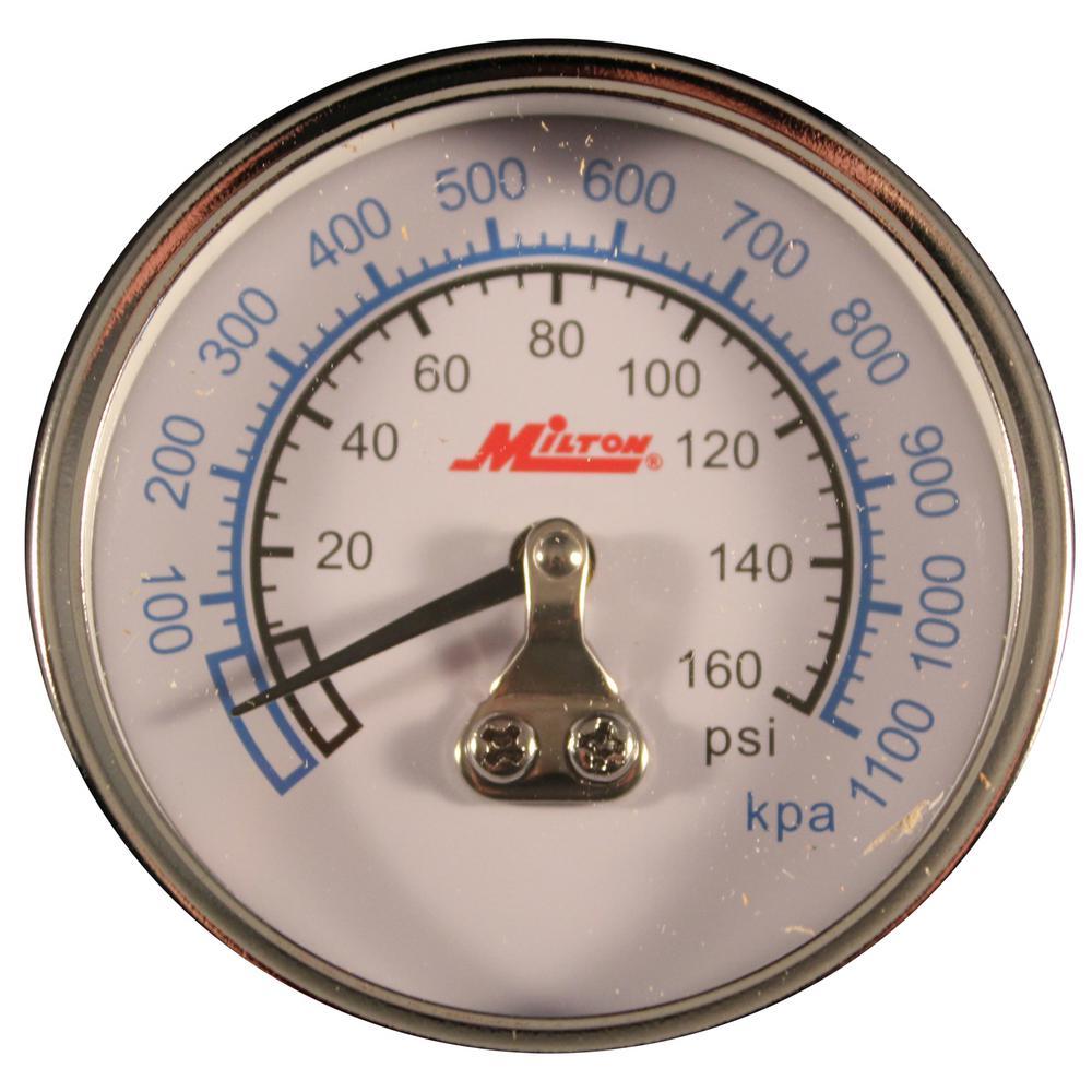 1/4 in. NPT Mini High Pressure Gauge