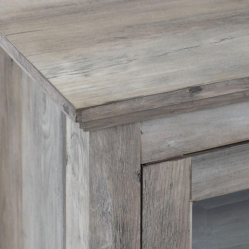 Gray Wash Composite Tv Stand 48, Grey Wash Furniture