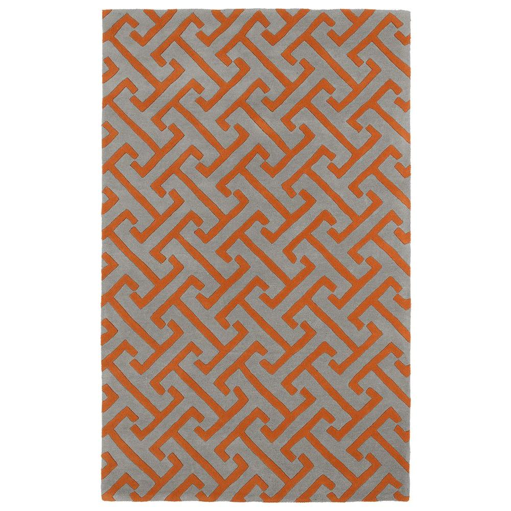 Kaleen Revolution Grey 3 ft. x 5 ft. Area Rug