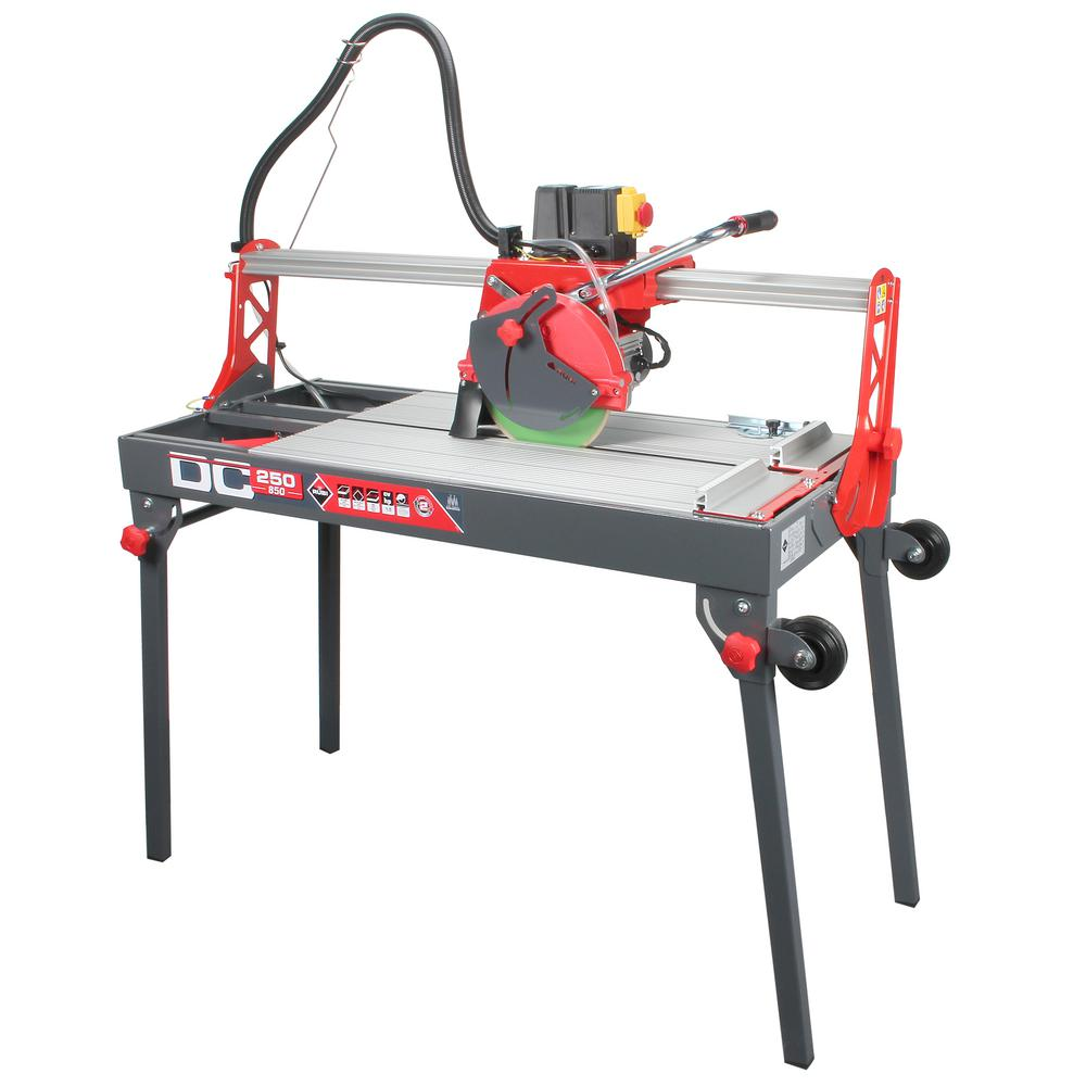 DC 250-850 120-Volt 60 Hz Tile Saw with Blade and Cable