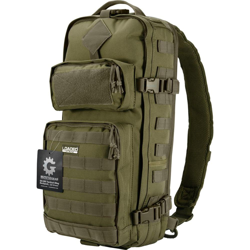 Gx 300 Tactical Sling Backpack Olive Drab Green