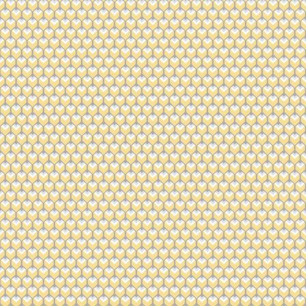 RoomMates 28.29 sq. ft. 3D Petite Hexagons Peel and Stick Wallpaper