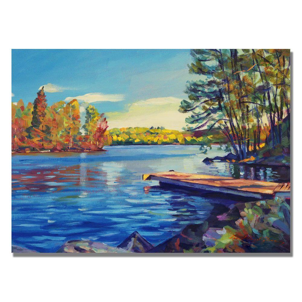 Trademark Fine Art 18 in. x 24 in. End of Summer Canvas Art