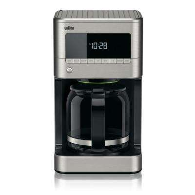BrewSense 12-Cup Drip Coffee Maker with Adjustable Brew Strength and Keep Warm Temperature Settings - KF7170SI