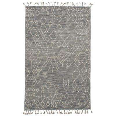 Tangier Grey 5 ft. x 8 ft. Indoor Area Rug