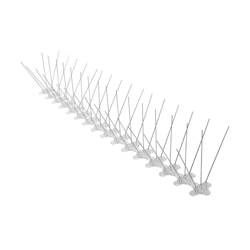 5 in. x 240 in. x 4.75 in. Stainless Steel Bird Spike