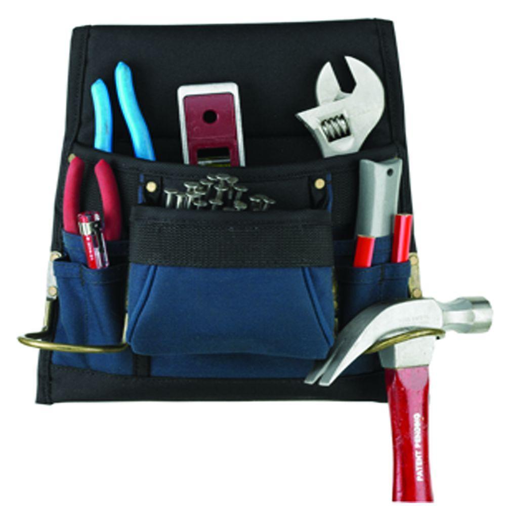 Husky 8-Pocket Nail and Tool Bag