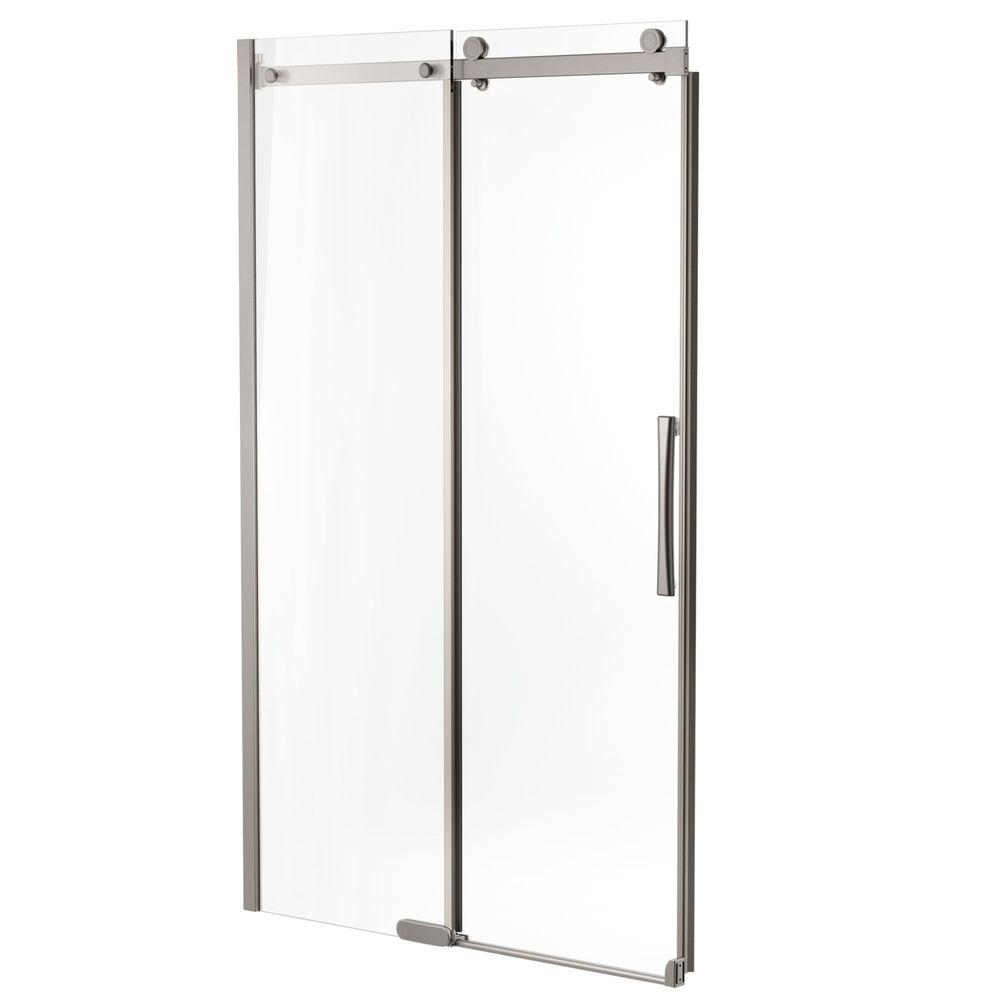 Delta 48 In X 72 In Semi Framed Sliding Shower Door In