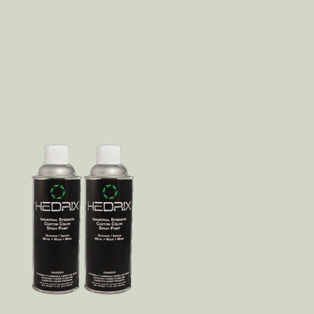 Hedrix 11 oz. Match of Valley Mist 460E-2 Gloss Custom Spray Paint (2-Pack)