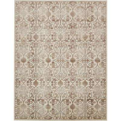 Himalaya Dark Beige 10 ft. x 13 ft. Area Rug